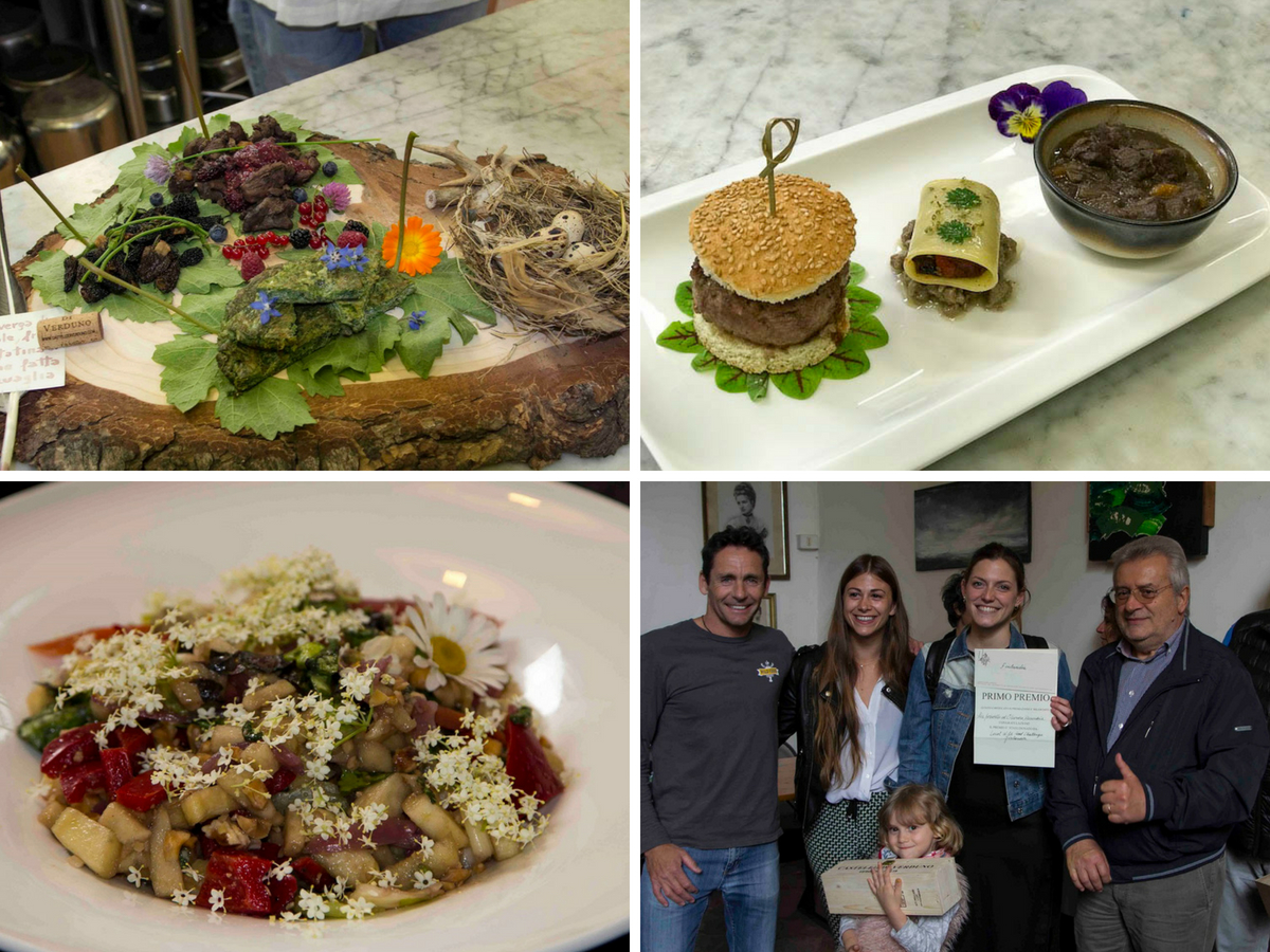 Local Wild Food Creations from the Verduno 2018 challenge